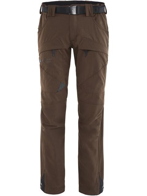 Klättermusen M's Gere 2.0 Pants Short Dark Coffee